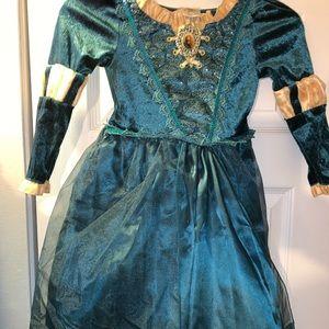 Disney Costumes - Meridas Dress Up Costume *Brave